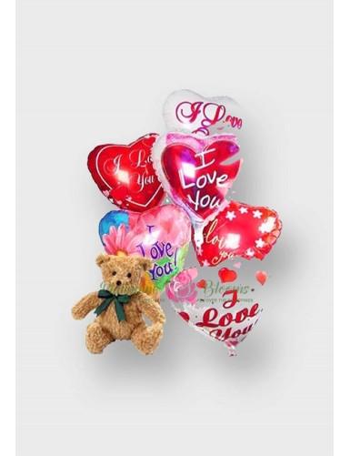 Bear and Balloons